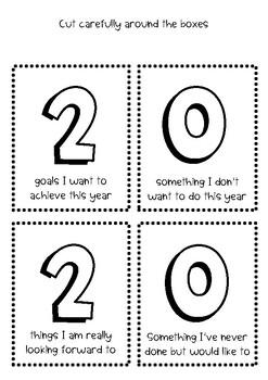 2020 New Year Writing