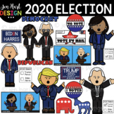 2020 Presidential Election Clipart {Jen Hart Clipart}