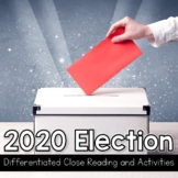 2020 Presidential Election Differentiated Close Reading Vocabulary Comprehension