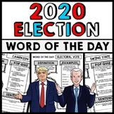 2020 Presidential Election - Donald Trump - Joe Biden Vocabulary Word of the Day