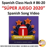 2020 Súper Juego Spanish Class song of the week American F