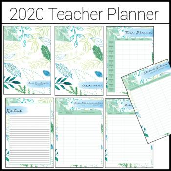 2020 Teacher Planner