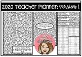 2020 Teacher Planner Version 1
