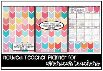 2020 Teacher Planner Version 6