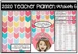 2020 Teacher Planner Version 6