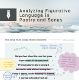 Figurative Language in Poetry and Songs - Discrimination and Covid Focus