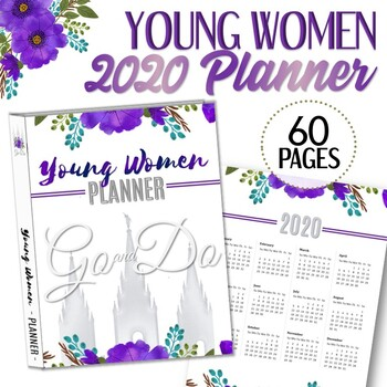 2020 YW Presidency Planner - Instant Download