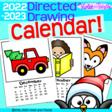 Directed Drawing Calendar Parent Christmas Gift for Parent {Step-by-Step Draw}