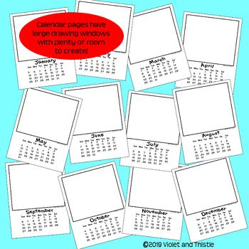 2020 Calendar Parent Christmas Gifts for Parents {Calendar Printable} C3