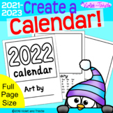 2021 Calendar Parent Christmas Gifts for Parent {Printable Monthly Calendar} C3