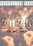 2020: propósitos para empezar el año con buen pie