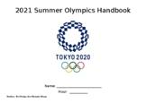 2021 (2020) Tokyo Summer Olympics Workbook