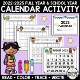 2021, 2022, 2023 Full Year & School Year Calendar: Read, C