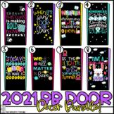 2021 Bulletin Board Door Decoration Super Bundle