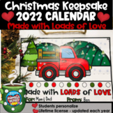 2021 Calendar Holiday Gift for Parents: Old Truck Theme