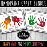 2021 Handprint Craft and Poem Bundle Includes Happy Fall a