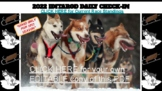 Iditarod (2021) Daily Check-In (DIGITAL and Interactive: M