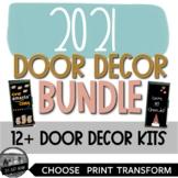2021 Monthly Door Decoration Set Bundle Epic  2021-2022 Mo
