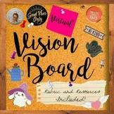 2021 | New Year | Goal Setting | Virtual Vision Board Acti