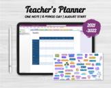 2021 OneNote Teacher Planner