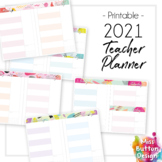2021 Printable Teacher Diary Planner - Day to a Page - SA Public