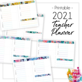 2021 Printable Teacher Diary Planner - Tasmania School Term Dates