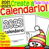 2021 SPANISH LANGUAGE Calendar Parent Christmas Gift for Parents Printable SpC3