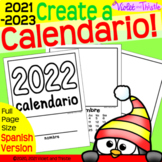 2021 SPANISH LANGUAGE Calendar Parent Christmas Gift for P