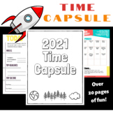 2021 Time Capsule Worksheets  & Journal Pages