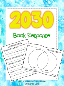https://www.teacherspayteachers.com/Product/2030-Book-Response-2887670