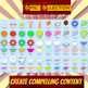 204 COMIC ELEMENTS ADD PIZZAZZ Vol. 1 BY COMIC TOONS for TPT Sellers / Teachers