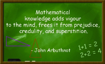 207 Beautiful and Inspirational Math Quotes