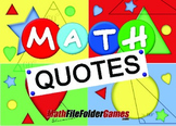 207 Beautiful and Inspirational Math Quotes