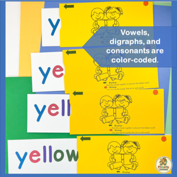 These Slider Words follow the Jolly Phonics sound sequence!