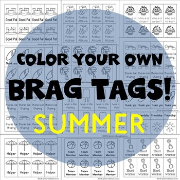 208 Brag Tags for Summer in English