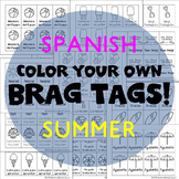 208 Brag Tags for Summer in Spanish