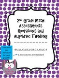 2.0A Assessments - 2nd Grade OA Math Assessments - 2 tests