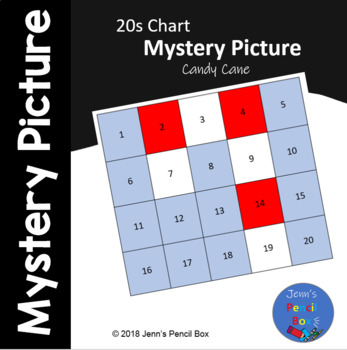 Candy Cane 20s Chart Mystery Picture