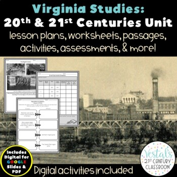 20th & 21st Centuries: Virginia Studies VS.9 {Digital & PDF Included}