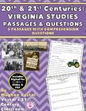 20th & 21st Century Passages & Questions VS.9 {Digital & P