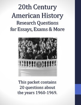 How To Write A Proposal Essay Outline  Research Questions For Th Century American History Health Essay Writing also Essay About Business  Research Questions For Th Century American History  Tpt Computer Science Essay