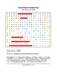 20th Century Art Styles Word Search with Key (Grades 6-12)