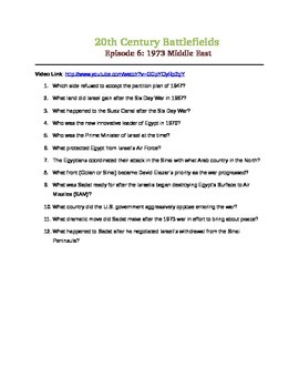 20th Century Battlefields  Episode 6: 1973 Middle East (BBC)