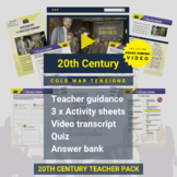 20th Century   Cold War Tensions Activity Pack and Award-w