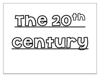20th Century Georgia Word Wall