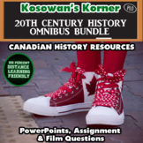 CHC2D:  PowerPoints and Assignments - Canada, WW1, WW2, Cold War