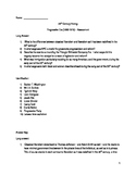 20th Century History - Progressive Era Test