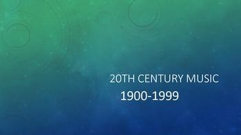 20th Century Music PowerPoint