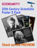 20th Century Scientists Mini-Poster 5 Pack: Celebrate dive