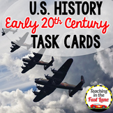 20th Century:WWI, Roaring 20s, Great Depression, WWII Task